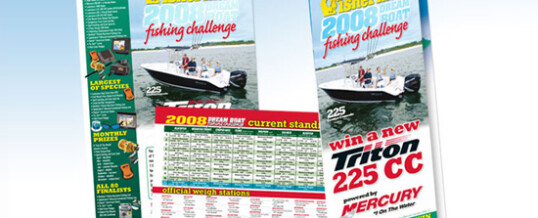 The Fisherman – poster, flyer & tri-fold