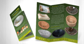 Berry Hill Stone – tri-fold brochure