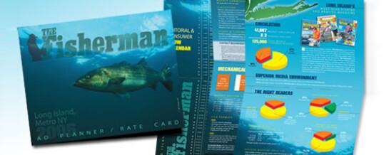 The Fisherman – media kit brochure