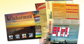 The Fisherman – media kit brochure