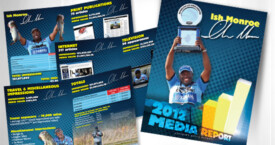 Advanced Media Reports - printed 8-page brochure